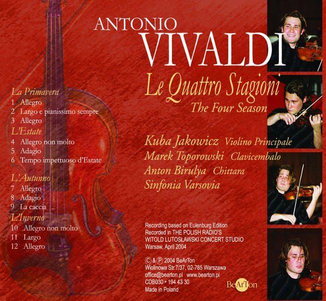 Antonio Vivaldi - Cztery pory roku