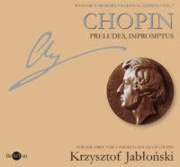 Chopin Jabłoński Preludia-Impromptus V7 CDB009 WNA