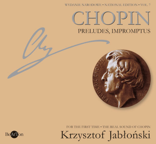 Chopin Jabłoński Preludia-Impromptus V7 CDB009 WNA