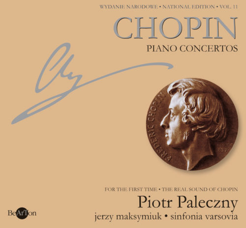 Chopin Koncerty fortepianowe V11 CDB015 WNA