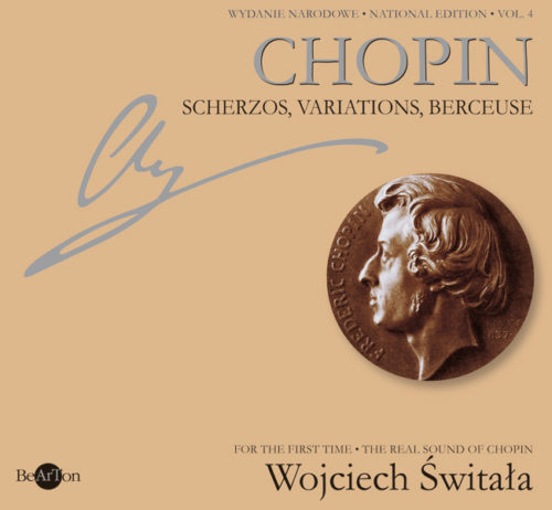 Chopin Świtała Scherza Wariacje Berceuse V4 CDB006 WNA