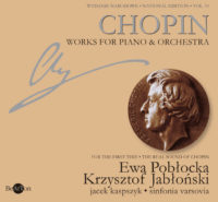Chopin Utwory na fortepian-orkiestrę V10 CDB014 WNA