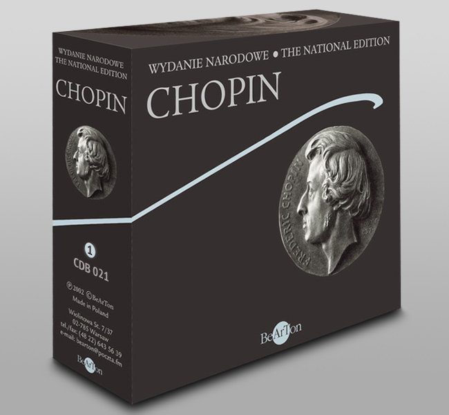 Chopin Box nr 1 CDB021