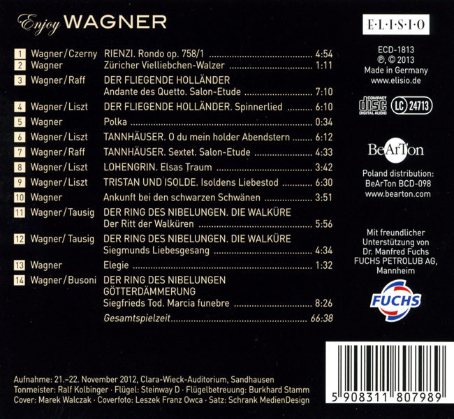 Enjoy Wagner BCD098