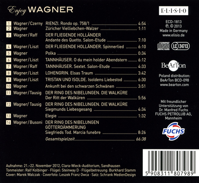 Enjoy Wagner BCD098