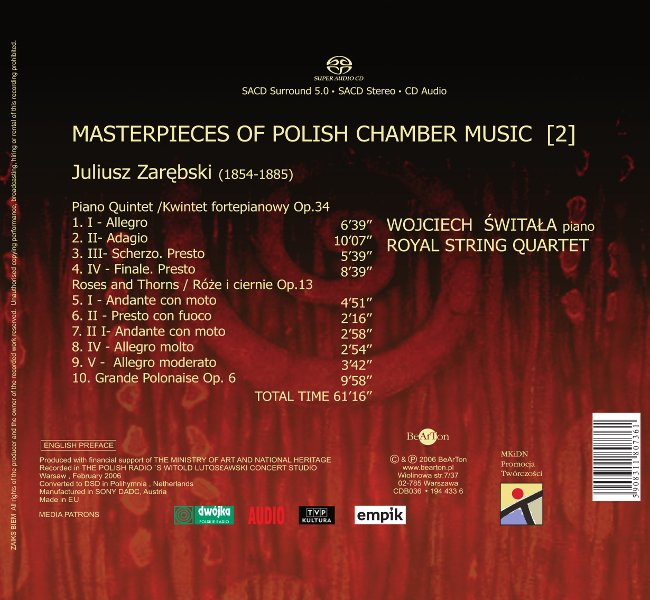 The Best of Zarębski CDB036