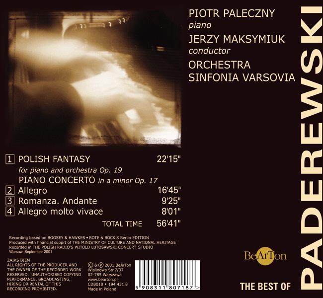 The best of Paderewski